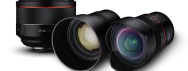 Samyang MF 14mm F2.8 Z, MF 85mm F1.4 Z y AF 14 mm ƒ2.8 F, dos nuevas ópticas para las Nikon Z6 y Z7 (y otra para montura F)