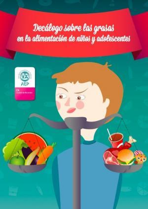 Decálogo de las grasas en la alimentación infantil