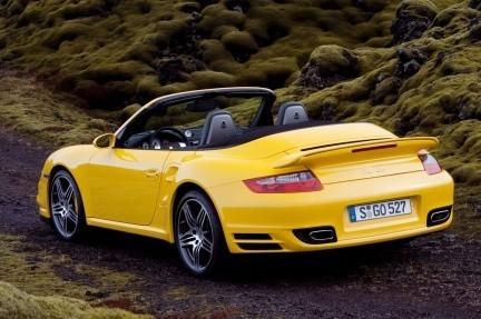 Porsche 911 Turbo Cabrio, la generación 997 al descubierto