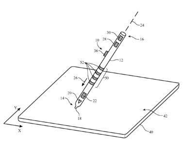 Según una nueva patente, el Apple Pencil podría incorporar una superficie táctil