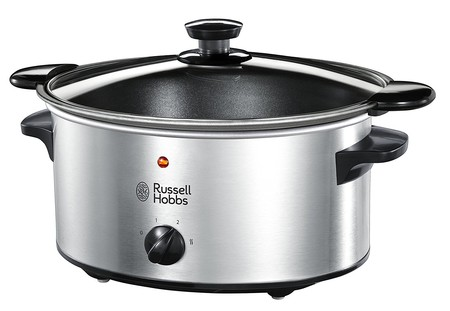 Por sólo 24,43 euros tenemos la olla de cocción lenta Russell Hobbs Cook & Home 22740-56 en Amazon