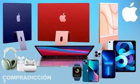 Ofertas en dispositivos Apple: los iPhone, iPad, Apple Watch o AirPods están a precios más económicos en nuestra selección semanal