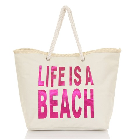 bolsos playa shopping