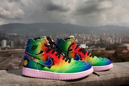 Nike Y J Balvin Colaboran Para Hacer Del Air Jordan 1 El Mas Colorido Sneaker Del Ano
