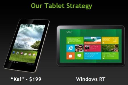 """NVIDIA anuncia """"Kai"""", Tegra 3 en tablets de 199$"""