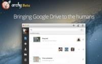 Archy, sencilla y elegante solución para gestionar Google Drive y Docs desde Mac
