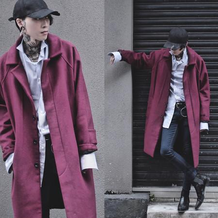 Los blogueros reviven el tono burgundy en looks para combatir el invierno