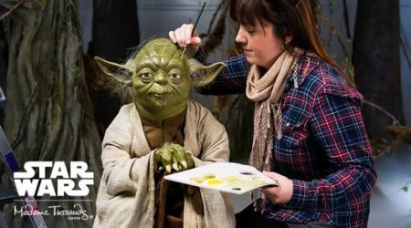 El universo Star Wars toma el museo Madame Tussauds