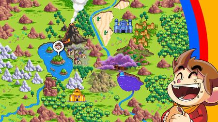¡Sorpresa! Alex Kidd in Miracle World DX adelanta su lanzamiento junto con un nuevo tráiler que explora sus diferentes niveles