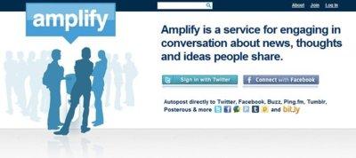 Amplify, una red social con mucho potencial