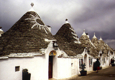 Casas como en la prehistoria: Alberobello