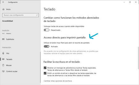 Capturar Pantalla Windows 10