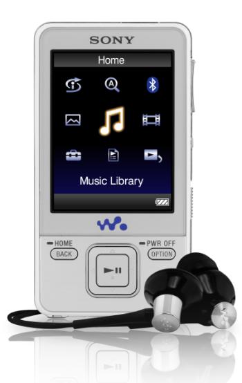 Sony Walkman con vídeo NWZ-A820 llegarán modificados a Europa