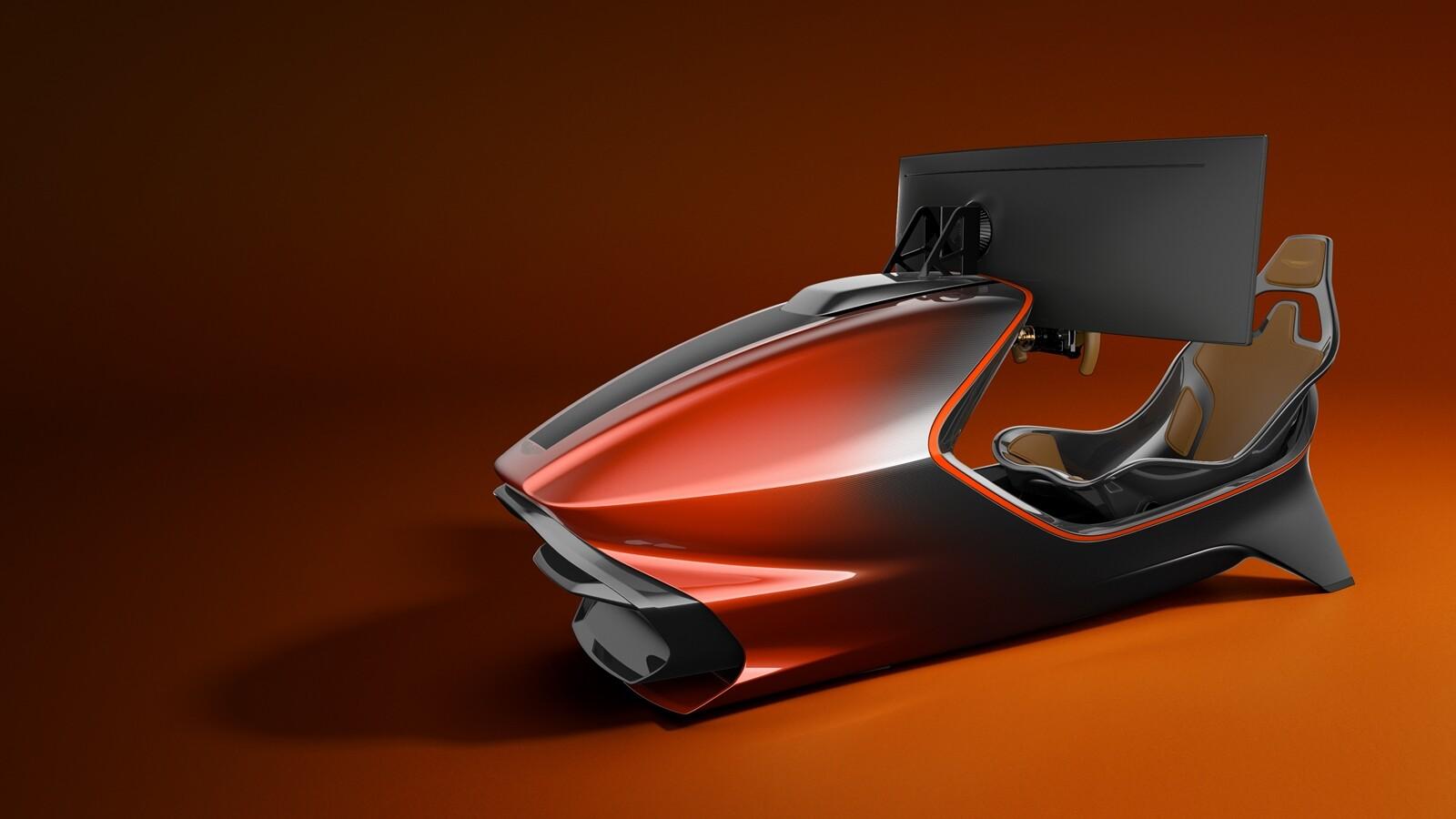 Foto de Simulador Aston Martin AMR-C01 (4/19)