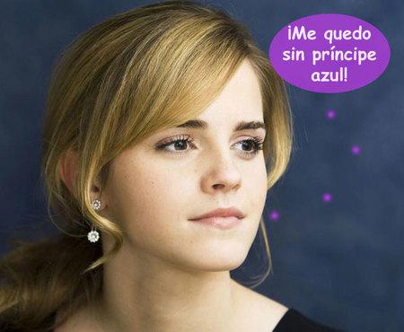 Emma Watson no se calzará los zapatitos de cristal de Cenicienta