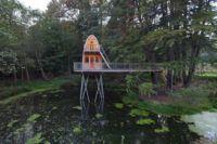¿Vivirías en una casa sobre un estanque?