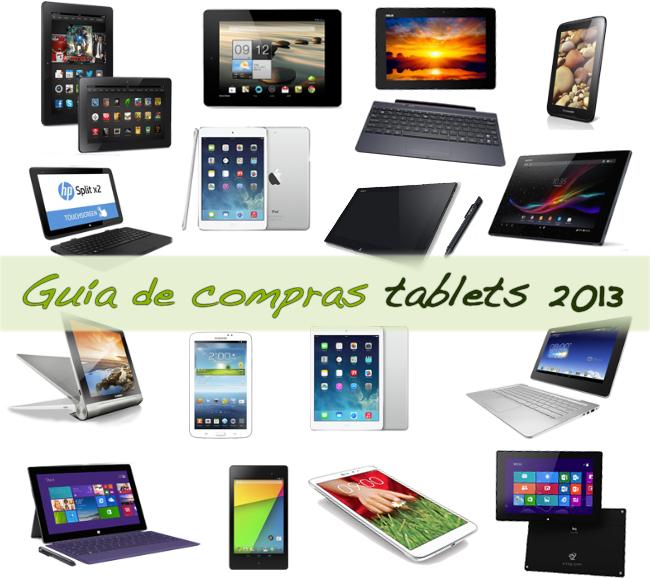 Si quieres una tablet, hay modelos de todos los precios: guía de compras de tablets 2013