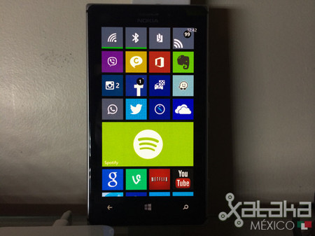 Más cerca del centro notificaciones en Windows Phone, aparecen imágenes