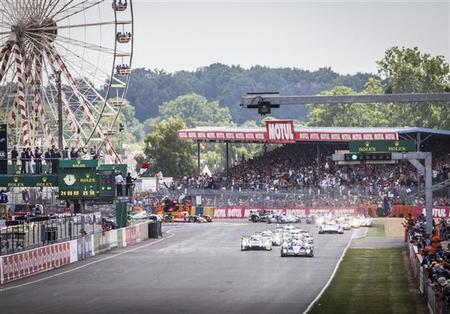 24 horas de Le Mans 2014: La lluvia marca las dos primeras horas de carrera