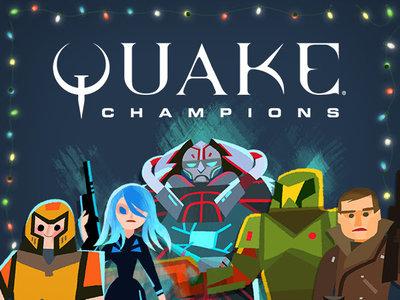 Ya está aquí la gran actualización de celebración invernal en Quake Champions