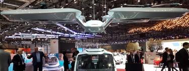 Mitad coche y mitad dron: así es el vehículo modular autónomo de Audi