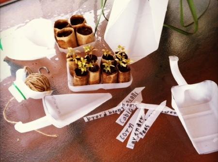 Recicladecoración: herramientas de jardinería a partir de botellas de plástico