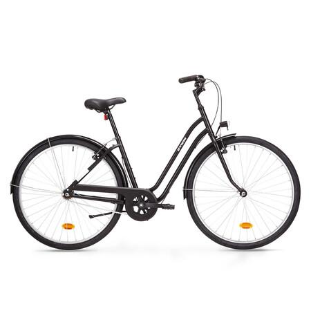 Producto Reacondicionado Bicicleta Urbana Clasica Elops 100 28 1v Negro