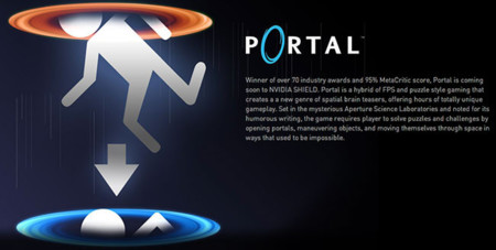 Portal for NVidia Shield