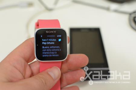 """El Sony SmartWatch dice """"aquí estoy yo"""" y se actualiza"""