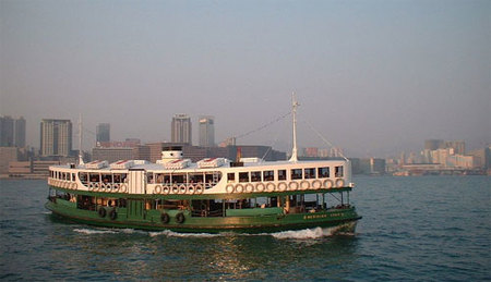Hong Kong: el ferry por la bahía