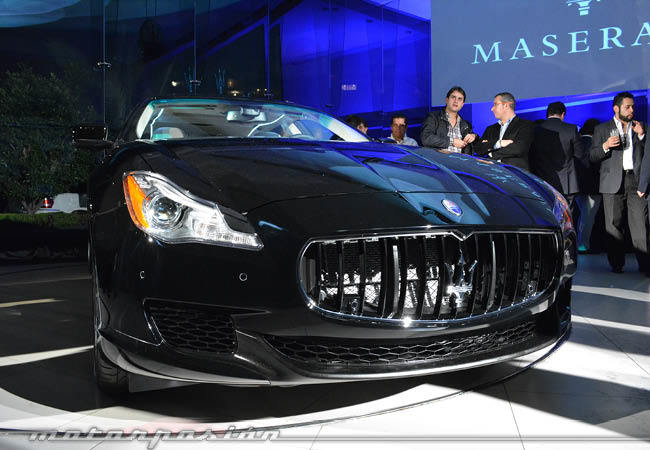 Maserati Quattroporte en México