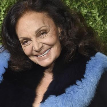 Diane Von Furstenberg quiere un #TimesUp en el mundo de la moda y estas son las razones