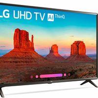 Smart TV de 43 pulgadas LG, con resolución 4K, por sólo 319,99 euros y envío gratis