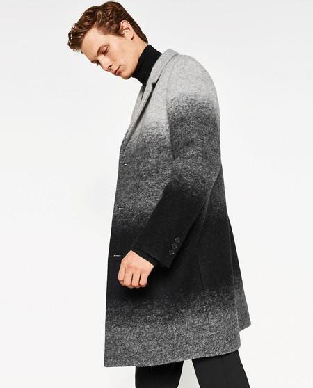 Zara Gradient Coat Efecto Degrade Trendencias Hombre Fall Winter 2016