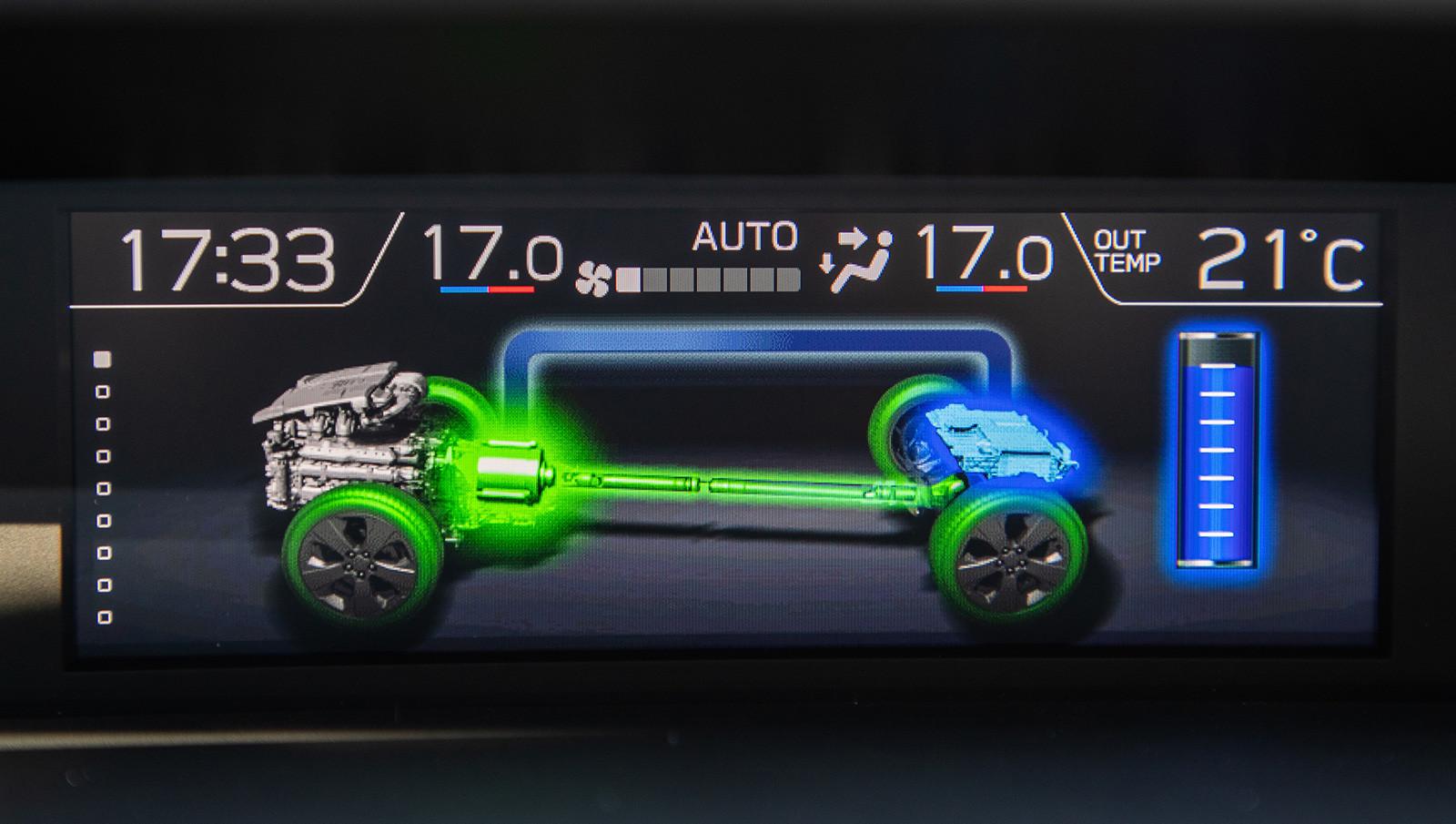 Foto de Subaru XV ECO HYBRID 2020, a prueba (34/35)