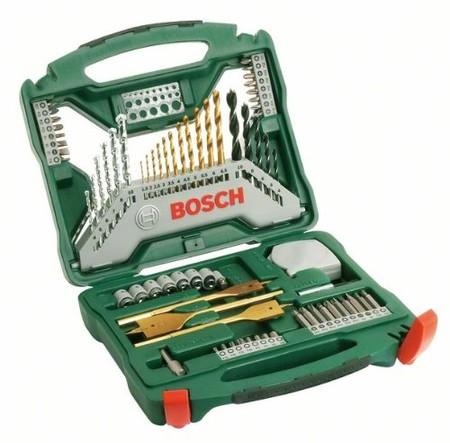 Por 30,77 euros tenemos el maletín Bosch X-Line Titanio con 70 accesorios en Amazon