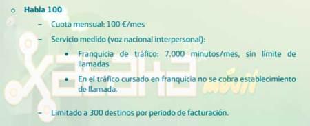 Habla 100 de Movistar