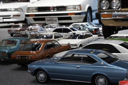 Una colección de maquetas Toyota a escala 1:5 para conmemorar su 75 aniversario
