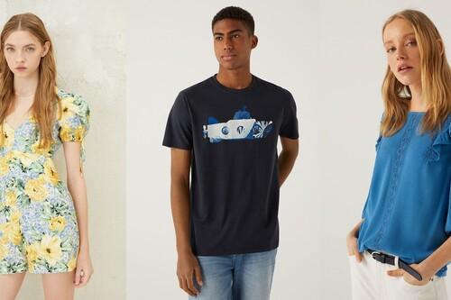Hasta 70% de descuento en las rebajas de Springfield, con pantalones chinos por 12,99 euros, blusas por 6,99 o camisetas por 5,99 euros