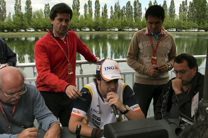 Alonso reconoce que debe mejorar y dar más