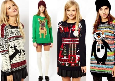 jerséis Navidad chicas