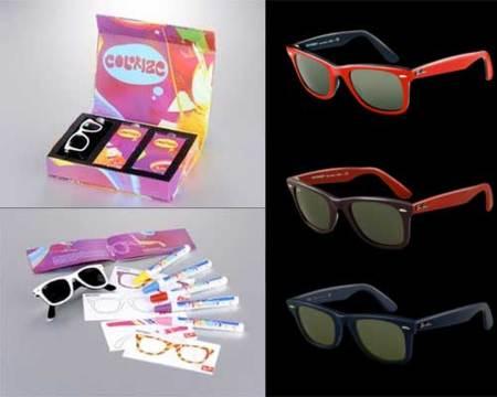 Wayfarer Colorize Kit, tus Ray-Ban personalizadas