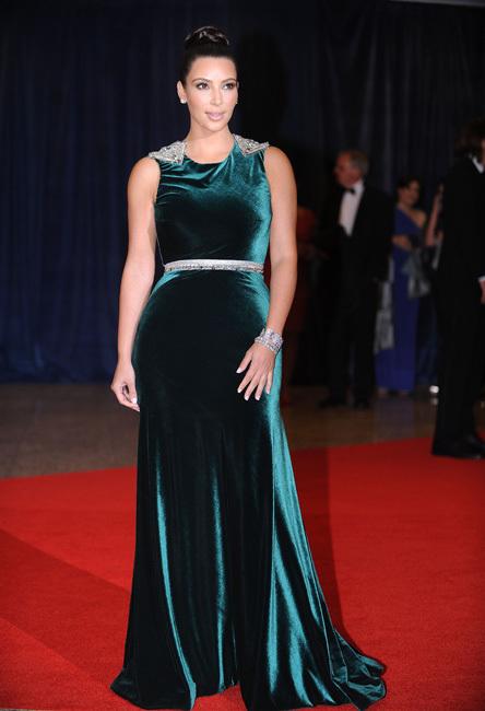 Kim Kardashian white-house-correspondets-dinner