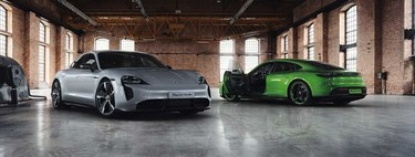 Porsche Taycan estrena Carbon SportDesign Package: fibra de carbono al gusto