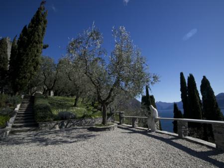 Jardines castillo Vezio