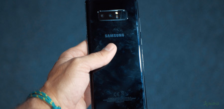 Samsung Galaxy Note 8 trasera