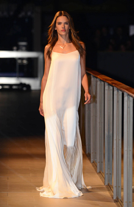 Vestido Alessandra Ambrosio Mango