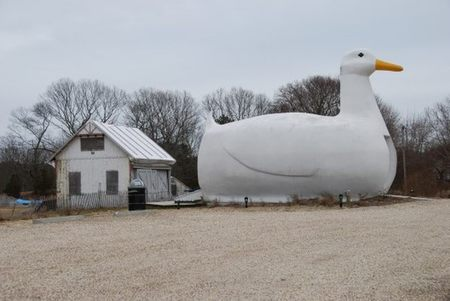 The Big Duck, el pato más famoso de Long Island (con permiso de Donald)