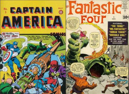 Capitán América / Cuatro Fantásticos