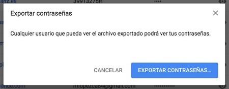 Chrome Exportar Contrasenas Mac 2